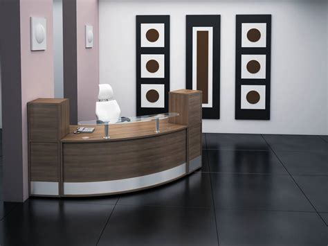 bureau reception ergonomic reception area interior design for professional