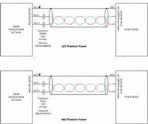 Connecting The Output Of A Biamp Device To A Phantom