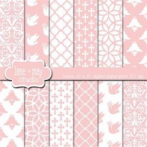 Pink Baptism Wallpaper