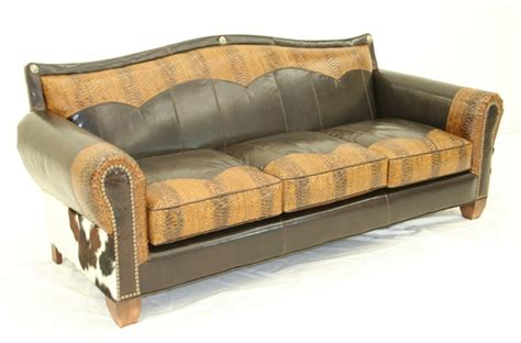 western leather sectional sofa cowboy perfection furniture sofa western style