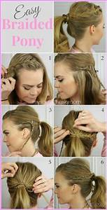 Cute easy hairstyles for long hair school step by ...