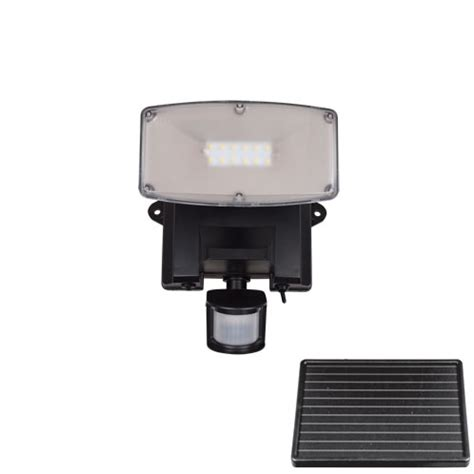 bright led pir outdoor solar security light garden solar