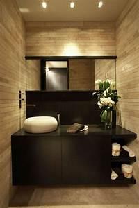 Meuble Salle De Bain Taupe : le carrelage beige pour salle de bain 54 photos de ~ Dailycaller-alerts.com Idées de Décoration