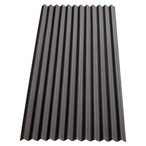 Dachpappe Und Dachplatten by Gutta Bitumenwellplatte K12 Schwarz 2 000 X 910 X 32 Mm