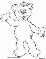Coloring Bear Cartoon Bears Outline Polar Bare Network Printable Clipart Teddy Colour Sheets Templates Template Library Valentine Popular Clip Coloringhome sketch template