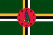 National Flag Store Dominica Flag Nylon - National Flag Store