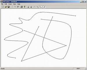 Gdi  Line  Curve Drawing Tool  Gdi  Examples  Cobject