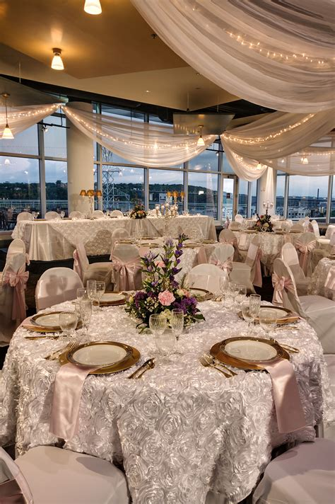 wedding reception science museum  mn st paul mn