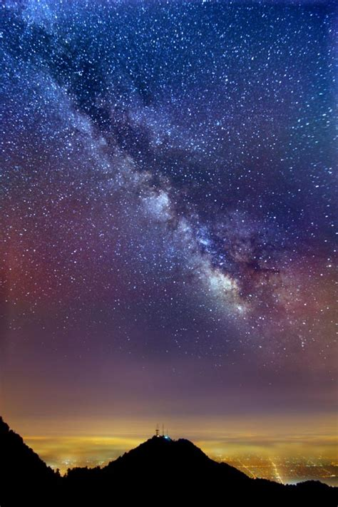 Milky Way Over Little Math Makes Our Galaxy Appear