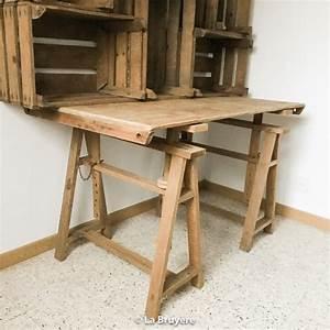 Tréteaux Pour Table : table avec tr teaux tayra la bruy re ~ Melissatoandfro.com Idées de Décoration