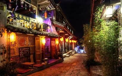 Lijiang Night China Wallpapers Yunnan 4k Ultra