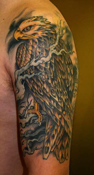 hawk tattoo images designs
