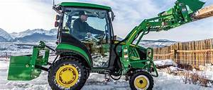 The 2025r Compact Tractor By John Deere  U2022 C U0026b Operations