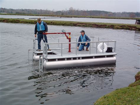 Small Utility Boat by Utility Service Barge Aqua Cycle Pontoon Paddle Boats
