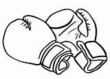 Coloring Boxing Gloves Glove Strong Bokshandschoen Drawing Bokshandschoenen Surprise Template Sinterklaas Sketch Cliparts Boksen Maken Blogo Hobby Designlooter Als Een sketch template