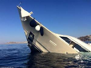 Photographs And Footage Show Yacht Sinking Off Greek