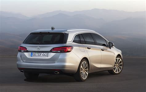 Opel Astra Sport by 2016 Opel Astra K Sports Tourer Gm Authority