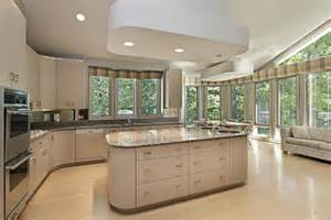kitchens with large islands eclectic mix of 42 custom kitchen designs