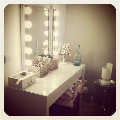 vanity table with lighted mirror ikea ikea dressing table vanity lights تسريحات pinterest