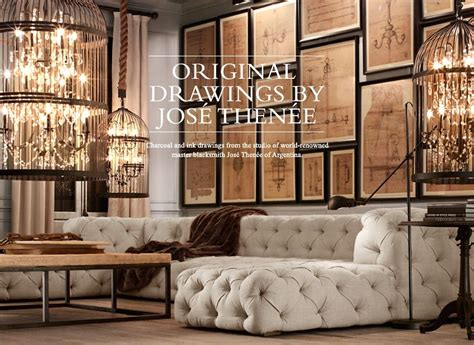 Decorating Ideas Restoration Hardware by Wall D 233 Cor Restoration Hardware