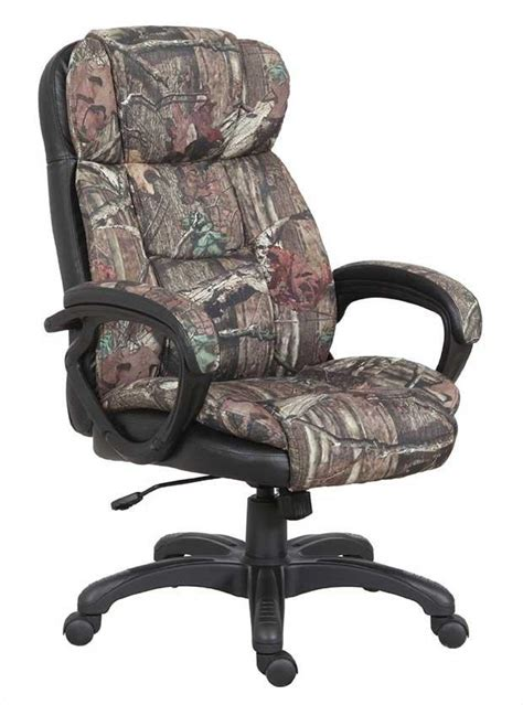 chair office oak executive mossy camo camouflage chairs camoflage fabric height furniture adjustable desk swivel tall gaming computer dugan recliner