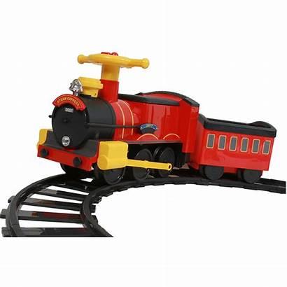 Train Steam Rollplay Toy Ride Battery 6v
