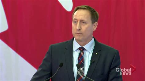 cabinet minister peter mackay announces tory