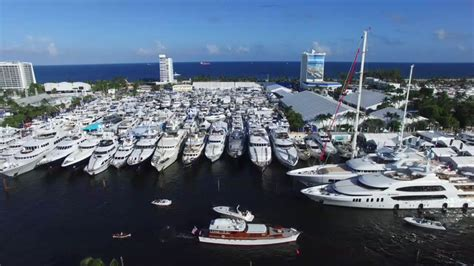 Lauderdale Boat Show by Fort Lauderdale International Boat Show Dronestagram