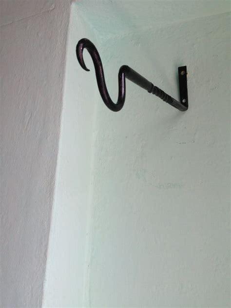 Wall Plant Hooks by Iron Plant Hanger Plant Hanger Hook Metal Wall Bracket