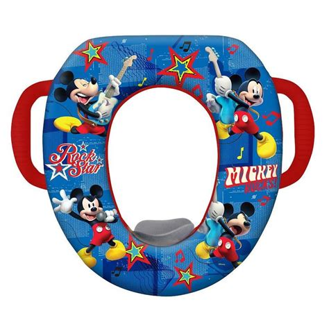 Mickey Mouse Potty Seat Walmart by Mickey Mouse Quot Mickey Capers Quot Soft Potty Seat Potty Seat