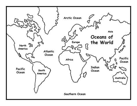 oceans   world coloring page