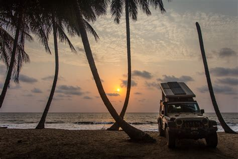 jeep beach sunset chasing turtles in ébodjé the road chose me