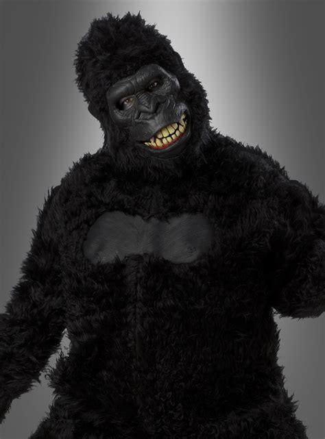 gorilla kostüm kinder gorilla kost 252 m affenkost 252 m deluxe ausf 252 hrung