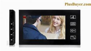 7 Inch Touchscreen Video Door Phone With Vandal Proof