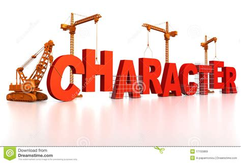 Building Character Stock Illustration Illustration Of