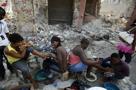 eyewitness daily resumes in haiti world news the