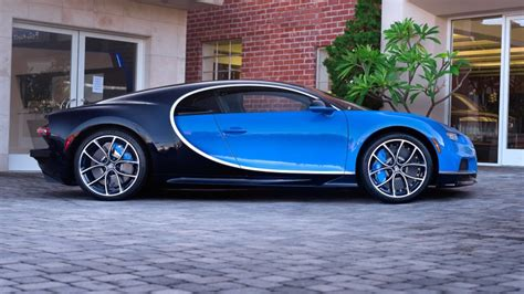 Although similar in dimensions, the powertrain was revised with. 2018 Bugatti Chiron Up for Grabs at L.A. Auction   American Luxury