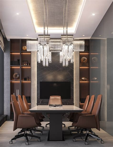 home interiors logo modern luxury ceo office interior design jeddah saudi