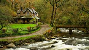 House in the Woods for 1920 x 1080 HDTV 1080p resolution ...