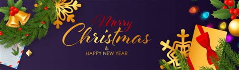 40,000+ vectors, stock photos & psd files. Merry christmas and happy new year banner design with ...