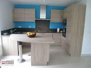 exemple cuisine 042 atouts cuisines With exemple de cuisine en l