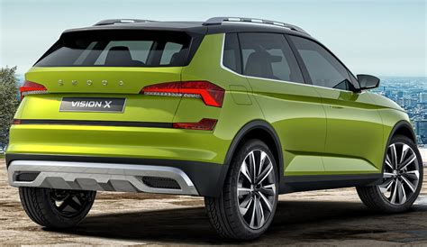 Skoda Vision X concept's production version to lead ...