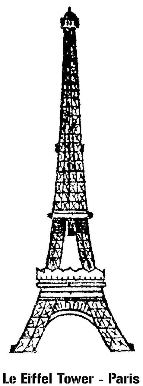 stencil le eiffel tower paris paris party