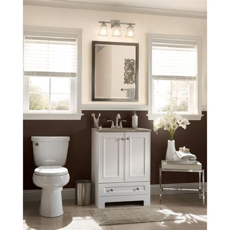 Shop Style Selections Emberlin White Integral Single Sink