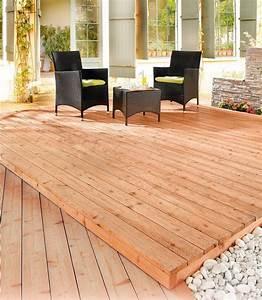 Robinie Terrassendielen Kaufen Karibu Komplett Set Holz