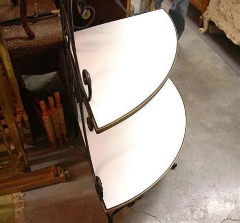 Wrought Iron Corner Etagere by Deco Wrought Iron Corner Etag 233 Re Pia S Antique
