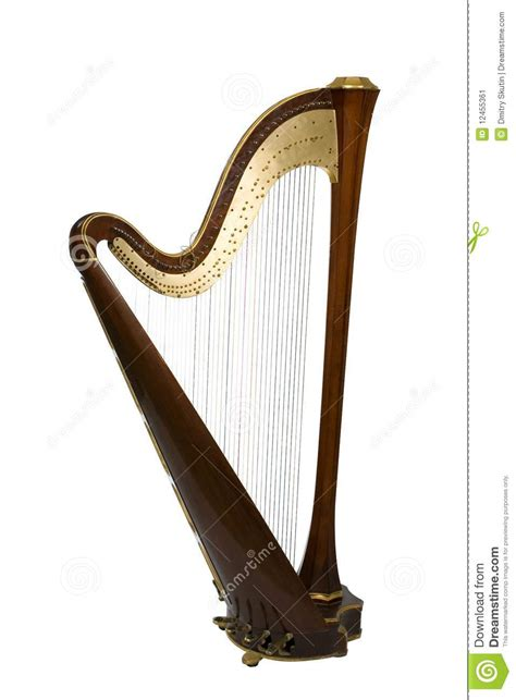 what is a l harp harp stock image image 12455361