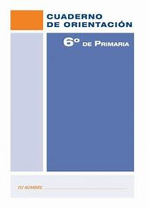 Calamo CUADERNO DE ORIENTACIN PARA 6 PRIMARIA