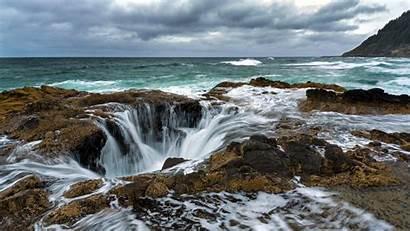 Oregon Ultra Coast Wallpapers Sea Landscape Beach