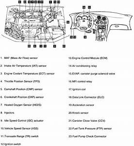 Where Is The Computer Located On A 97 Hyundai Elantra